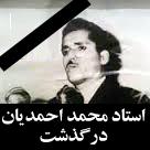 پیام تسلیت درگذشت استاد احمدیان - استاد آهی